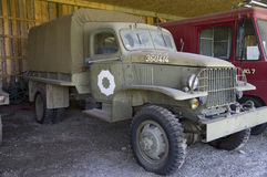Vintage Military Truck WWII Alaska Highway Stock Images