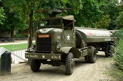 Vintage military vehicle Royalty Free Stock Photos