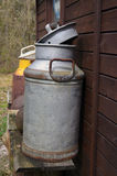 Vintage milk can Royalty Free Stock Photo
