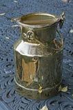 Vintage milk pail Stock Image