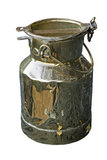 Vintage milk pail Royalty Free Stock Image