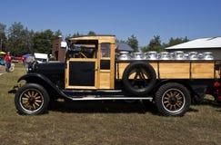 Vintage milk truck Stock Photos