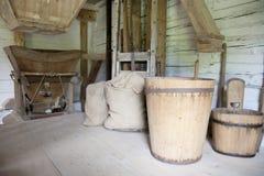 Vintage mill hopper Stock Image