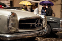 Vintage Mille Miglia 2016 de MERCEDES Photo stock