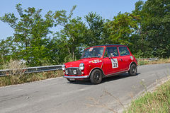 Vintage Mini Cooper MK3 (1972) Royalty Free Stock Photos