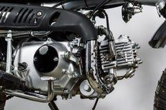 Motorcycle engine 50cc. royalty free stock photos