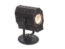 Vintage Mini Theatrical Spot Light Royalty Free Stock Images
