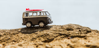 Vintage miniature van Royalty Free Stock Images