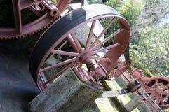 Vintage Mining Machine Belt Gears 3 Royalty Free Stock Photography