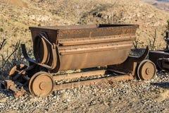 Vintage Mining Ore Cart Stock Photos