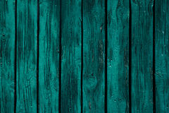 Vintage mint green wooden background. Old weathered green board. Texture. Pattern. Stock Image
