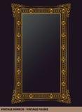 Vintage mirror frame Royalty Free Stock Image