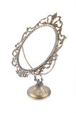 Vintage mirror frame in perspective Royalty Free Stock Images