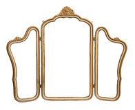 Vintage mirror isolated. Stock Image