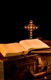 Vintage Missionary, religous, church supplies royalty free stock photos