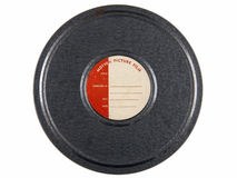 Vintage 16mm Film Can Royalty Free Stock Photos