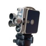 Vintage 8mm movie camera Stock Photos