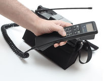 Vintage mobile phone Stock Image