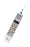 Vintage mobile phone Isolated Royalty Free Stock Images