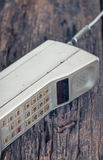 Vintage mobile phone Stock Photos