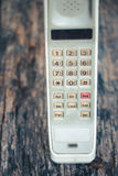 Vintage mobile phone Royalty Free Stock Photo