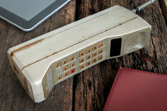Vintage mobile phone Stock Photography