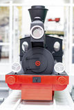 Vintage model train Stock Photography