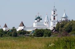 Vintage monastery Stock Photo