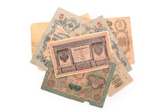 Vintage money. Money USSR. Obsolete. It is no longer valid, expi Stock Photography