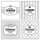 Vintage monochrome background Royalty Free Stock Images