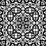 Vintage monochrome ornament Royalty Free Stock Photo