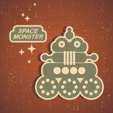 Vintage monster. Stock Images