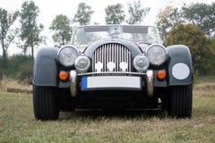 Vintage Morgan car - front view Royalty Free Stock Photos