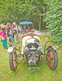 Vintage Morgan three wheeler Royalty Free Stock Photos