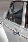 Vintage Morris Minor car. Exterior of vintage Morris Minor motor car Royalty Free Stock Photo