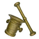 Vintage mortar and pestle Royalty Free Stock Images