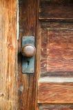 Vintage mortise lockset royalty free stock images