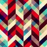 Vintage mosaic. Seamless pattern. Stock Image