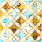 Vintage mosaic star seamless Royalty Free Stock Image