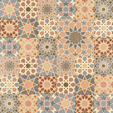 Vintage mosaic tile design Stock Photography