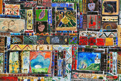 Vintage mosaic stock photos