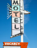 Vintage motel sign Royalty Free Stock Photo