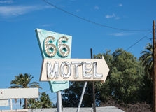 Vintage motel sign Royalty Free Stock Images