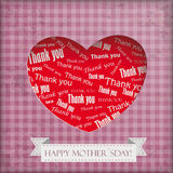 Vintage Mothersday Background Royalty Free Stock Image