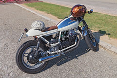 Vintage Moto Guzzi V35 cafe racer Royalty Free Stock Photography