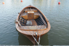 Vintage Motor Boat Royalty Free Stock Photography
