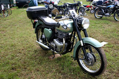 Vintage motorbike Stock Image