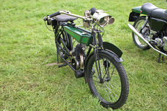 Vintage motorbike Royalty Free Stock Photo