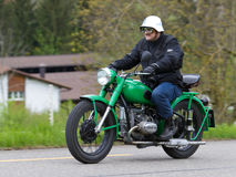 Vintage motorbike Royalty Free Stock Images