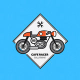 Vintage Motorbike Label Royalty Free Stock Images